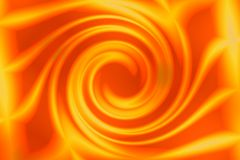 Swirl or curl in orange Royalty Free Stock Photo