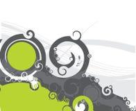 Swirl Design. A Vectorized Swirl Design. Elements Stock Photos
