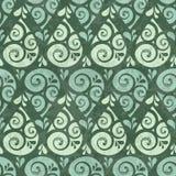 Swirl drop seamless pattern background Stock Photos