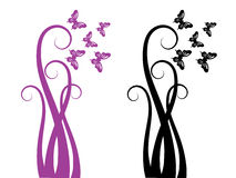 Swirl elements Stock Photo