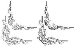 Swirl elements vector illustration