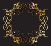swirl för b-filialram Royaltyfri Foto
