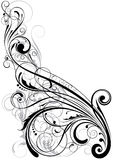 Swirl floral element Stock Photography