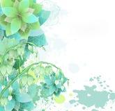 Swirl Flower Stock Photo