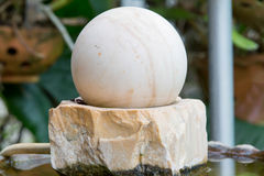 Swirl fountain,sacred object for house life and business Stock Photos