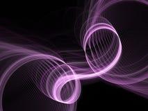Swirl fractal 3D Stock Image