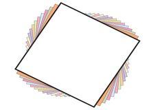 Swirl Frame - vector Stock Image