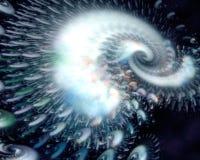 Swirl Galaxy Background Royalty Free Stock Photos