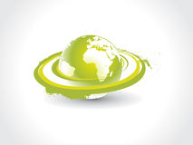 Swirl globe Stock Photo