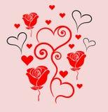 Swirl Heart Stock Photography