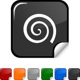 Swirl  icon. Royalty Free Stock Photos