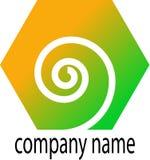 Swirl logo Stock Photo