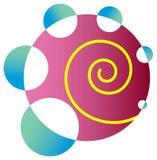 Swirl logo Royalty Free Stock Image