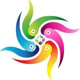 Swirl logo Stock Images