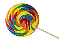Swirl Lollipop Stock Image