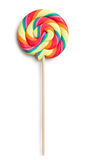 Swirl lollipop Royalty Free Stock Photos