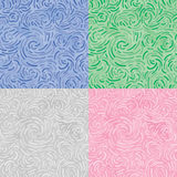 Swirl ornament (seamless vector wallaper) vector illustration