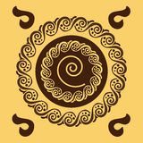 Swirl pattern Royalty Free Stock Images