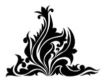 Swirl, Patterns, Flowers Design -Vector Royalty Free Stock Photo