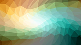 Swirl of red yellow triangles. Raster . Royalty Free Stock Images