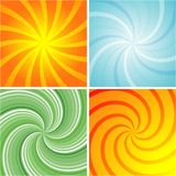 Swirl Retro Background Royalty Free Stock Photo
