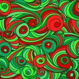 Swirl seamless pattern Royalty Free Stock Photos