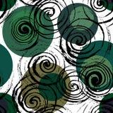 Swirl seamless pattern. Stock Photography