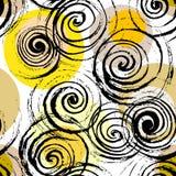 Swirl seamless pattern. Royalty Free Stock Photos