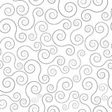 Swirl seamless pattern Royalty Free Stock Photos