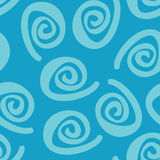 Swirl seamless pattern Royalty Free Stock Image