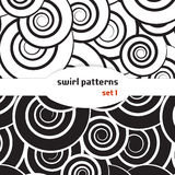 Swirl seamless pattern. Set 1. Swirl seamless pattern vector illustration