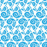 Swirl seamless pattern Stock Photography