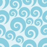 Swirl seamless pattern Royalty Free Stock Photo