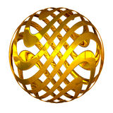 Swirl sphere Stock Images