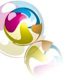 Swirl Sphere Design Royalty Free Stock Photo