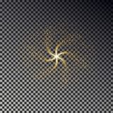 Swirl star dust vector. Shine light effect background. Swirl star dust vector. Shine light effect background stock illustration