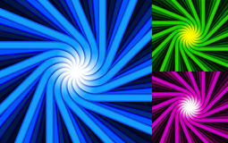 Swirl strips pack Stock Photos