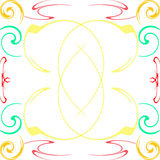Swirl swish illustration Royalty Free Stock Image