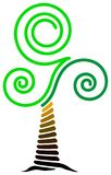 Swirl tree Royalty Free Stock Photos