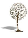Swirl tree Stock Image