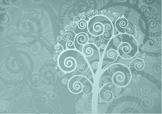 Swirl tree Royalty Free Stock Photos
