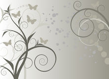 Swirl tree vector design Royalty Free Stock Photo