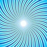 Swirl, twirl, spiral sunburst background. Monochrome pattern. Royalty Free Stock Photography