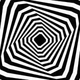 Swirl, twirl, spiral sunburst background. Monochrome pattern. Stock Photography