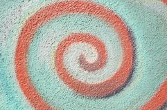 Swirl Wall Stock Photos
