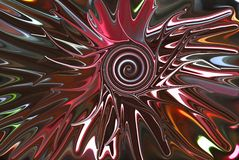 Swirled center burst. Colorful red dark maroon centered Royalty Free Stock Images