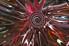 Swirled center burst Royalty Free Stock Images