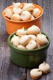 Swirled Meringue Stock Photos