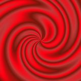 Swirled red material Royalty Free Stock Photos