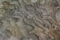 Swirled sand background Stock Photos